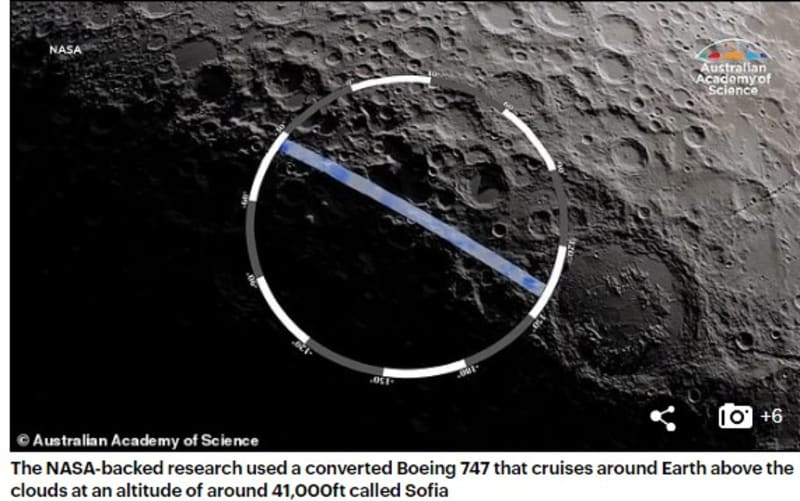 NASA Announces It Has Found Water On The Moon For The First Time (Photos)