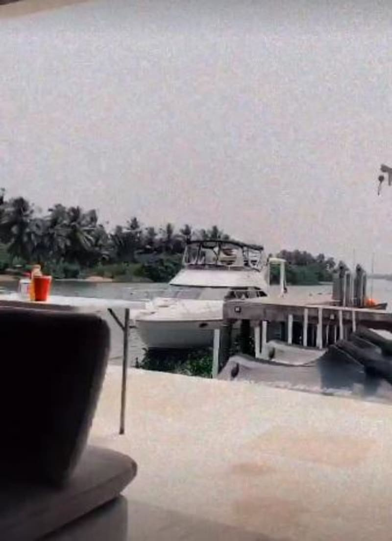 Wizkid Shows Off His Riverside House, Yacht And Studio In Ghana