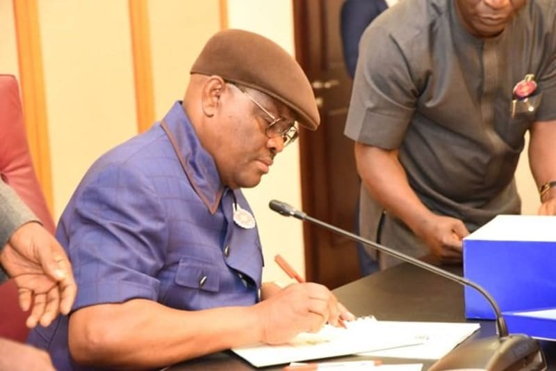 Governor Nyesom Wike Has Announced Partial Lockdown Of Rivers State