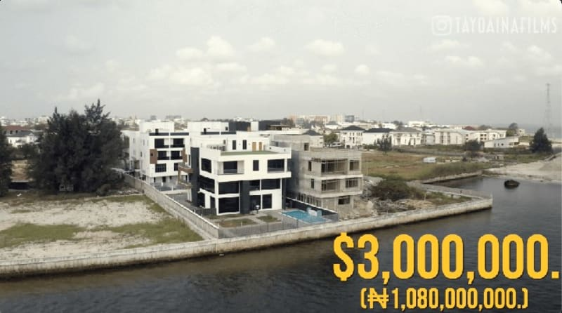Inside N1,080 Billion Banana Island Lagos Mansion (Video)
