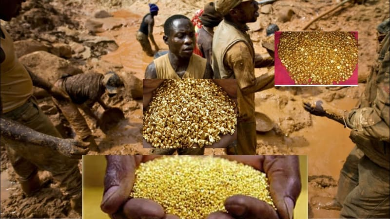 Mountain Of Gold In Congo: Villagers Discover A Mountain Full Of Gold