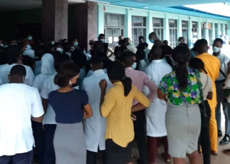 Disquiet In UCH Ibadan As Management Accused Of Short-Changing Interns