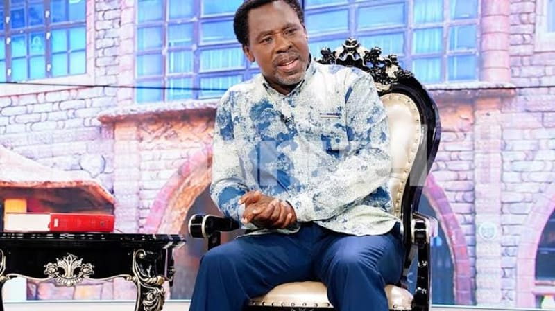 """I Am Ready To Pray For COVID-19 Patients In Isolation Centres"" - TB Joshua"