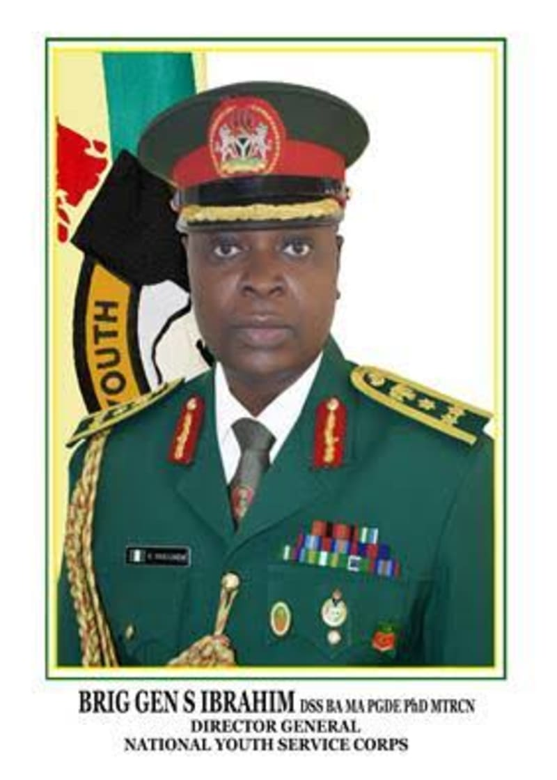 Corpers Can Be Mobilised For War - Brig-Gen Shuaibu Ibrahim (NYSC DG)
