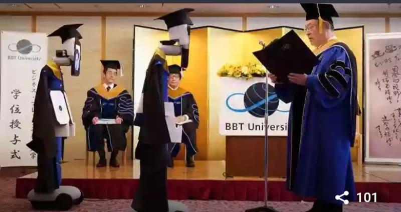 COVID-19: Japanese University Conducts Graduation Ceremony Using Remote Robots