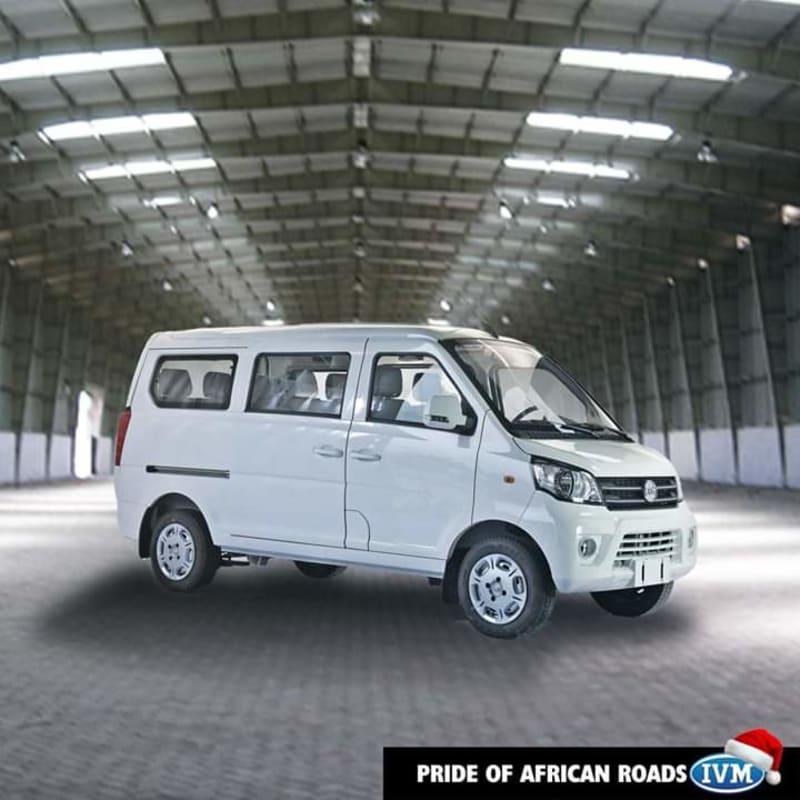 Innoson Unveils New Shuttle Bus