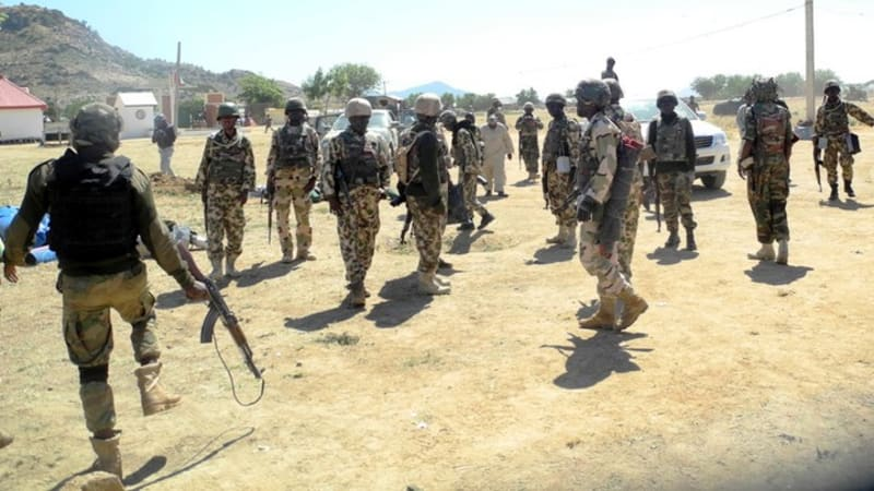 Soldier & His Girlfriend Who Supply Ammunition, Uniforms To Bandits Caught