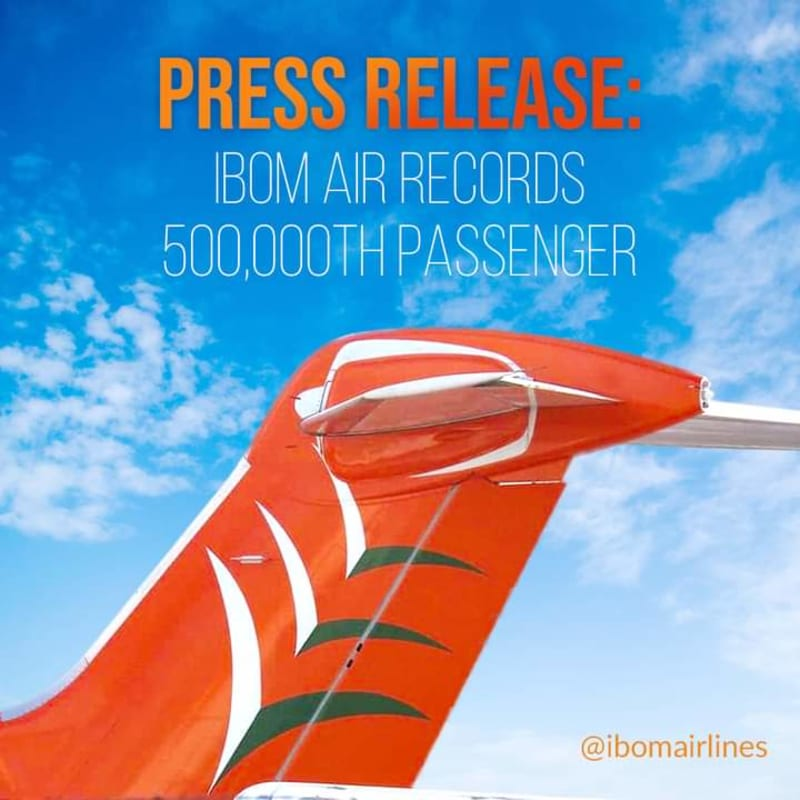 Ibom Air Celebrate 500,000 Passengers After 23 Months Of Operation