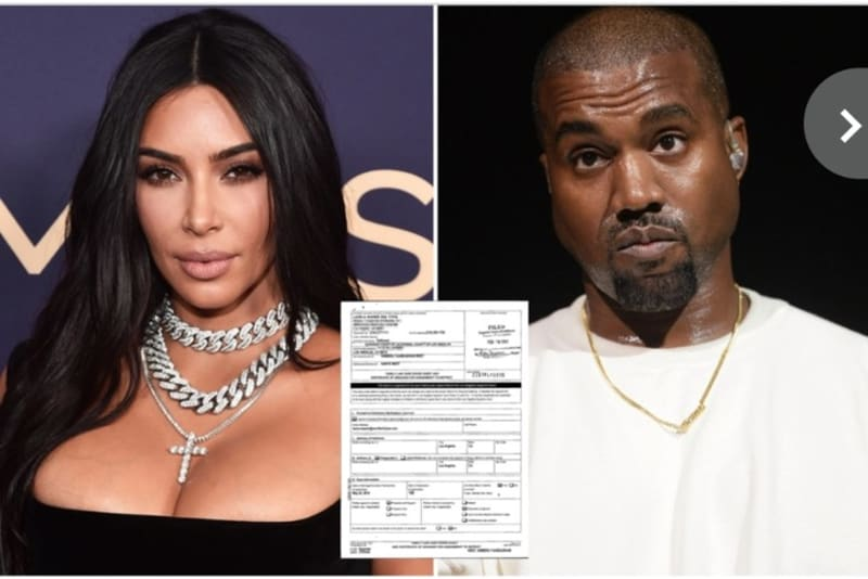 Kim Kardashian & Kanye West Divorce Papers Reveal Real Reason For Break Up