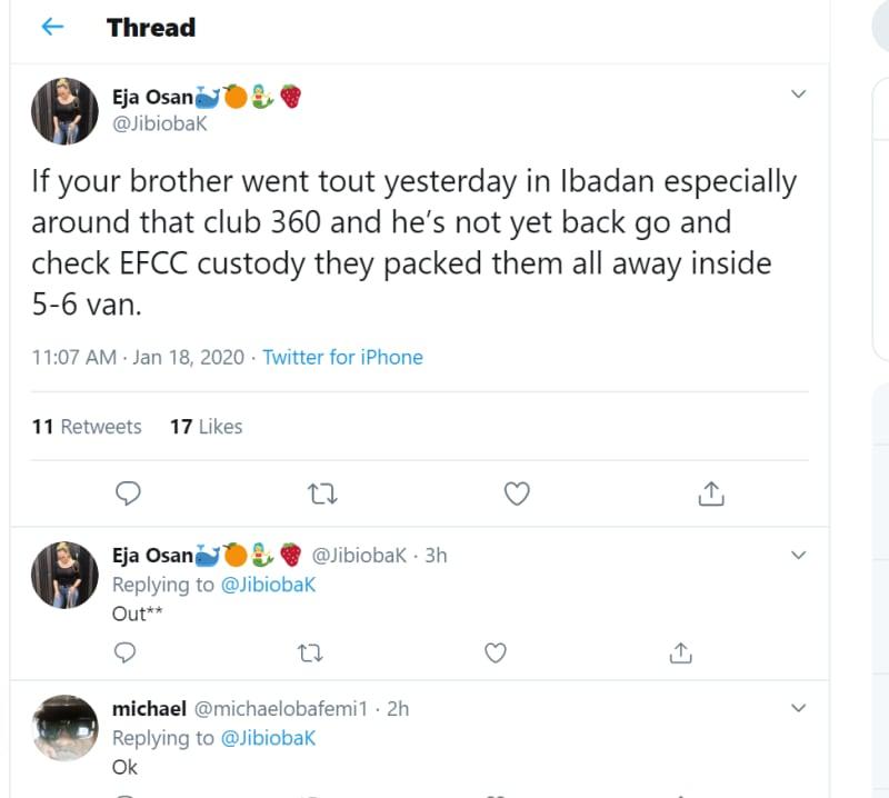 EFCC Raids Club 360 Ibadan. Many Arrested and Others Injured