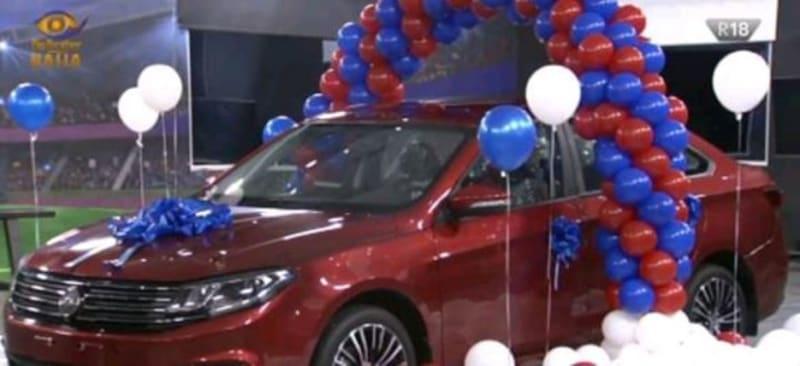 Ozo Wins The BBNaija Innoson Car