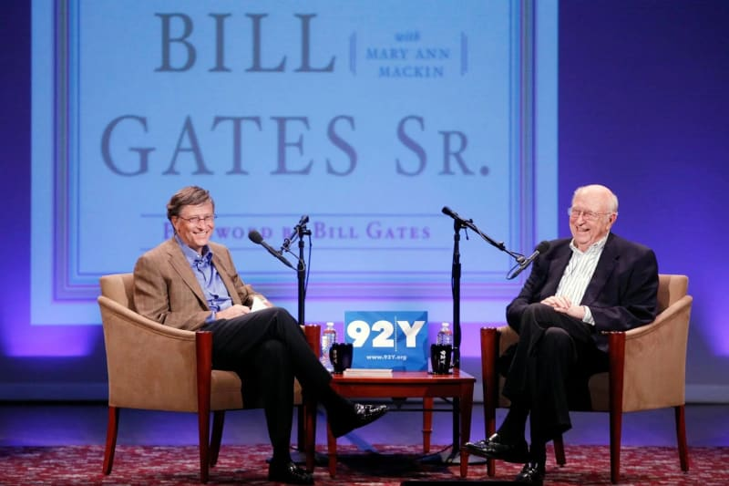 Bill Gates Sr., Father Of Microsoft Co-Founder Dies At 94