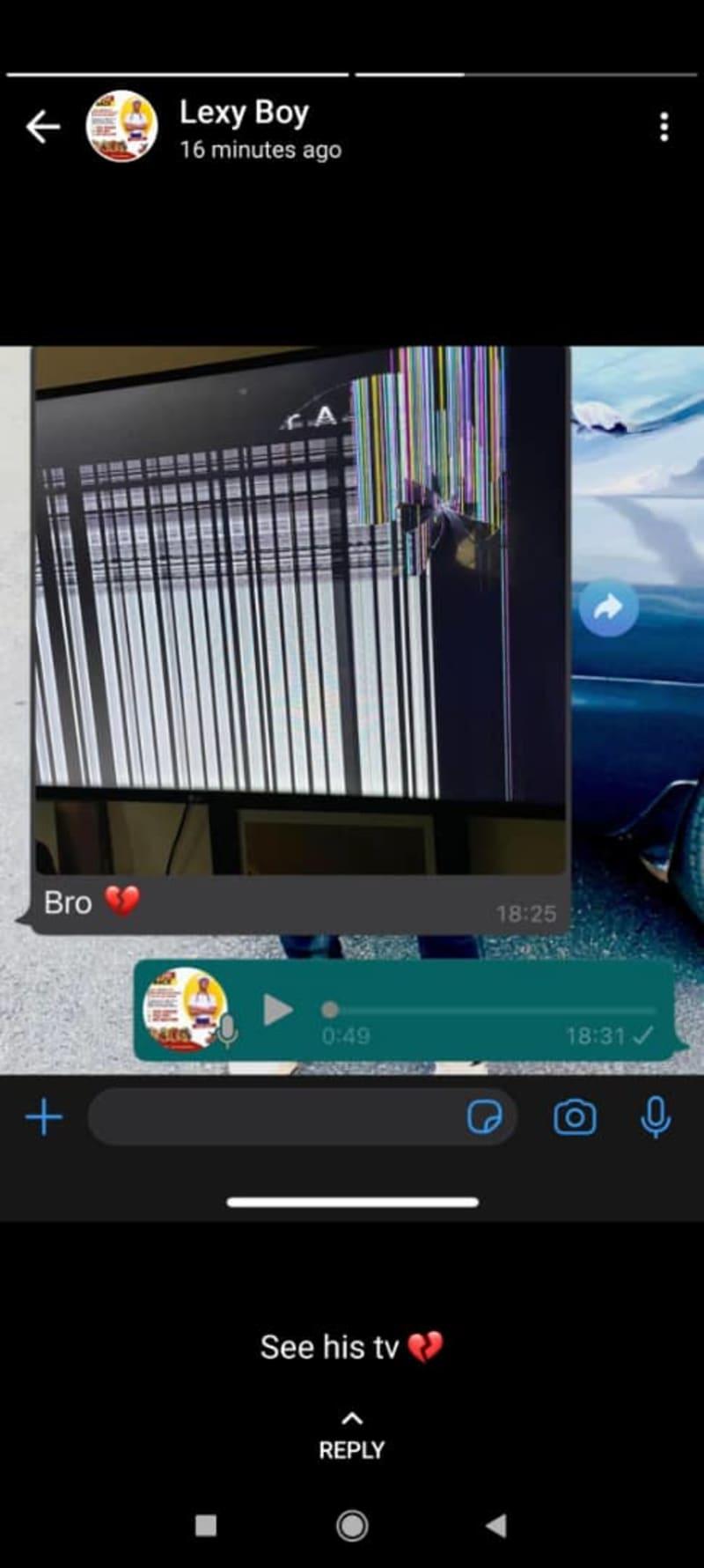 Girlfriend Smashes Cheating Boyfriend's New Iphone 12, Plasma TV