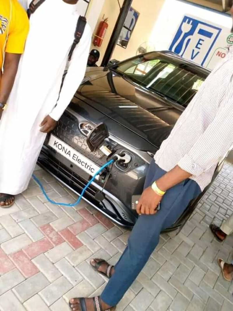 First Solar Powered Car Charging Station In Sokoto