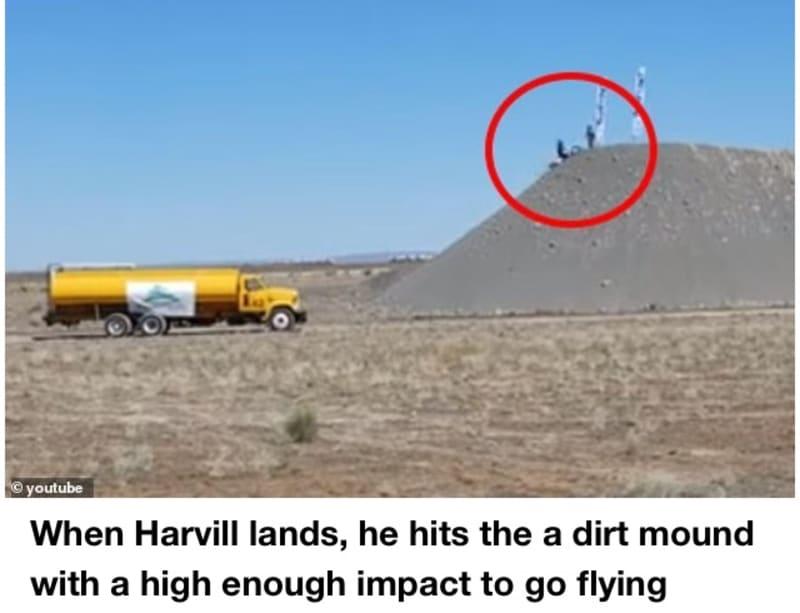 Stunt Rider, Alex Harvill Dies Attempting World-Record Motorcycle Jump (Video)