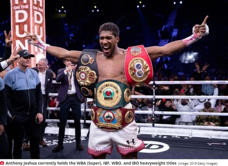 Anthony Joshua Urges Tyson Fury To Retire After They Fight