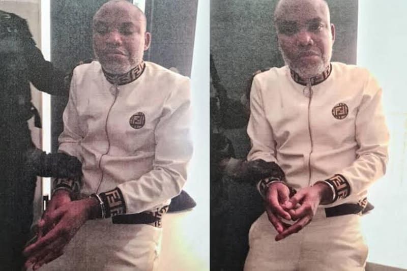 """Nnamdi Kanu's Wife Reveals """"The Only Person Who Can Help Him"""""""