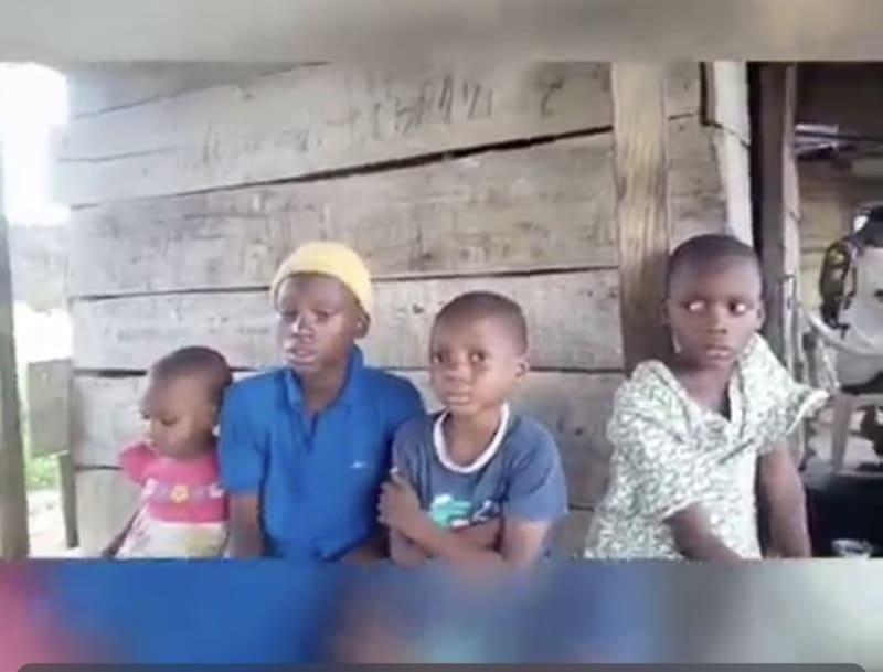 Father And Mother Abandon Six Children For Landlady, Go Their Separate Ways
