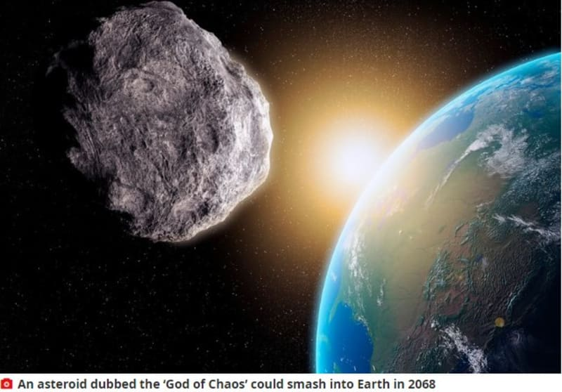 Huge 'God Of Chaos' Asteroid Is Speeding Up, Could Hit Earth In 48 Years
