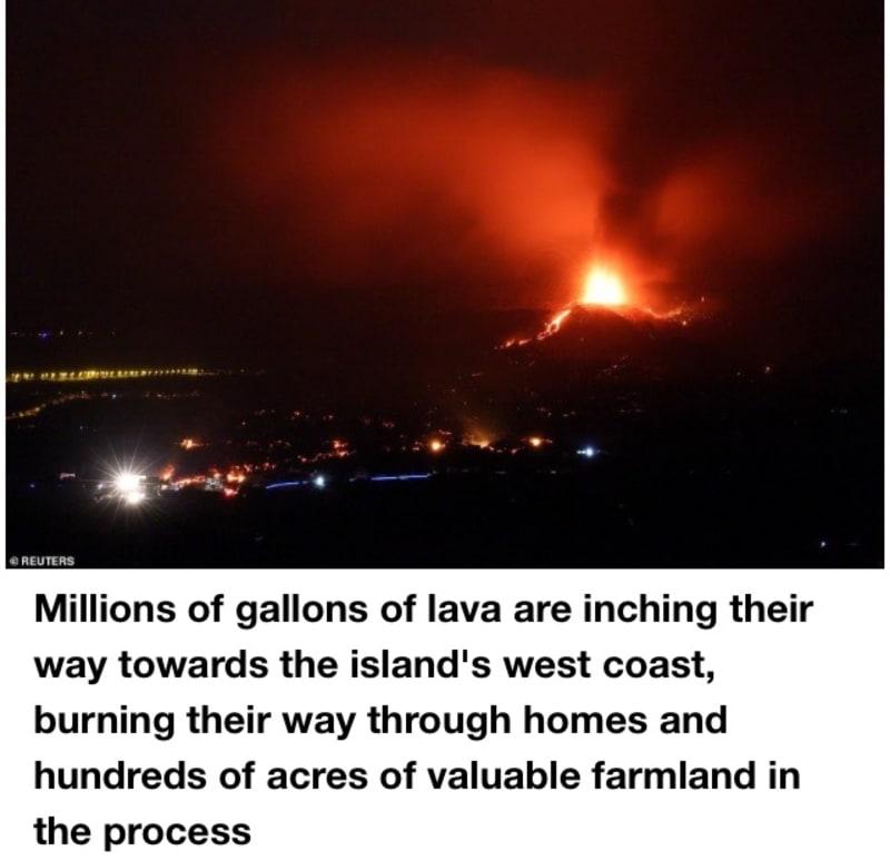 La Palma Eruption Enters 'New Explosive Phase' (Video)