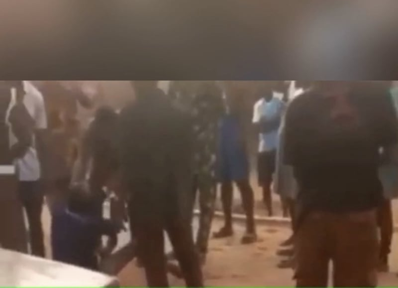 Vigilante Member Caught Sleeping With His Colleague's Wife (Video)