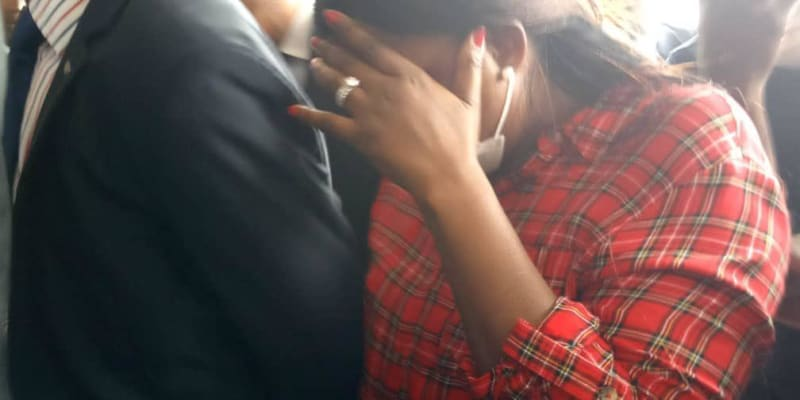 Funke Akindele And Husband In Court Over House Party (Video)
