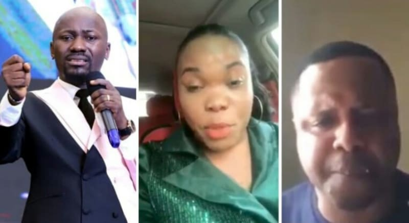 Married Female Pastor Denies Sleeping With Apostle Suleman (Video)