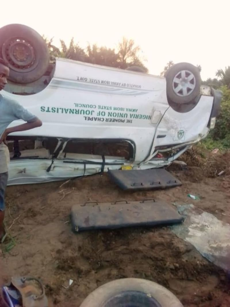 4 Staff Of Akwa Ibom Newspaper Die In Accident While Returning From A Wedding