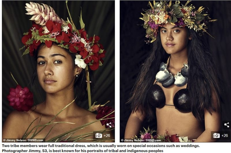 Photographer Captures Life Of World's Most Isolated Tribe (Pictures)