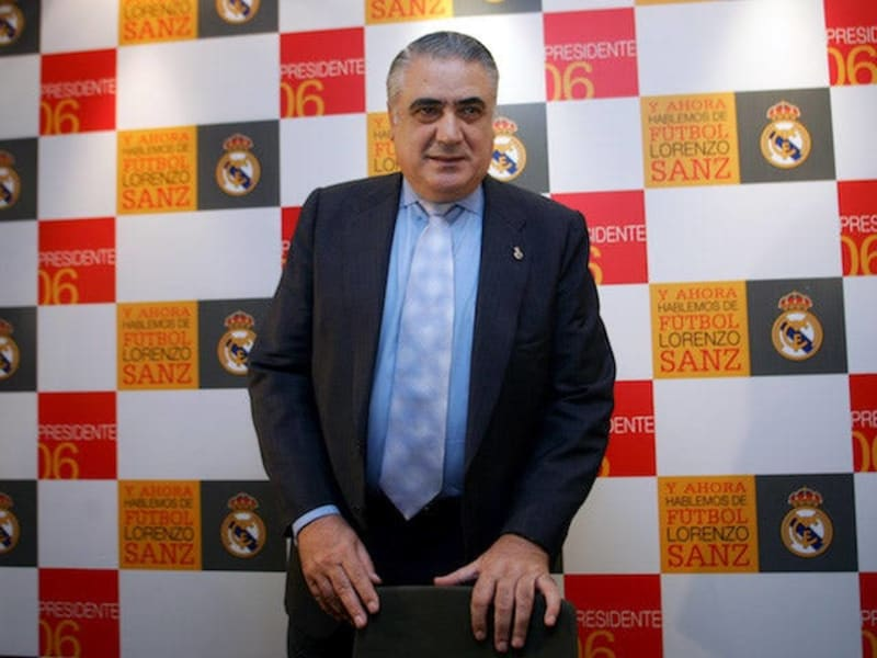 Former Real Madrid President, Lorenzo Sanz Dies After Contracting Coronavirus
