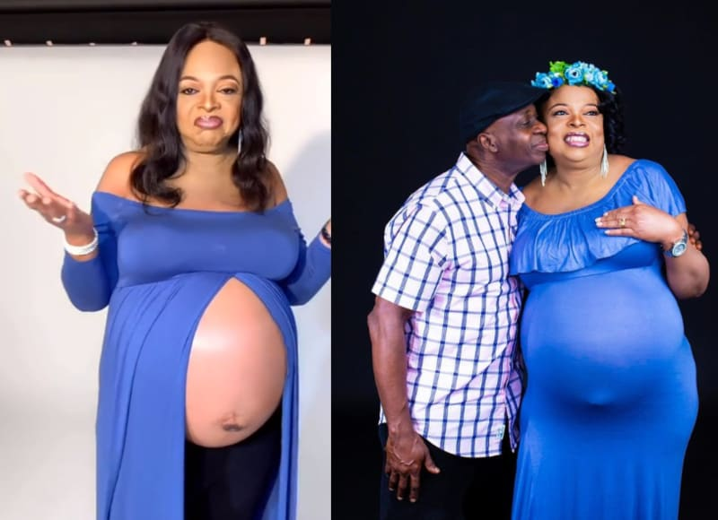 54-Year-Old Nigerian Woman Welcomes Her First Babies