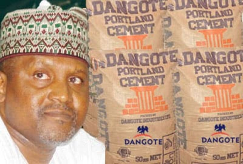 Our Cement Price Is Lower In Nigeria Than Other Countries - Dangote