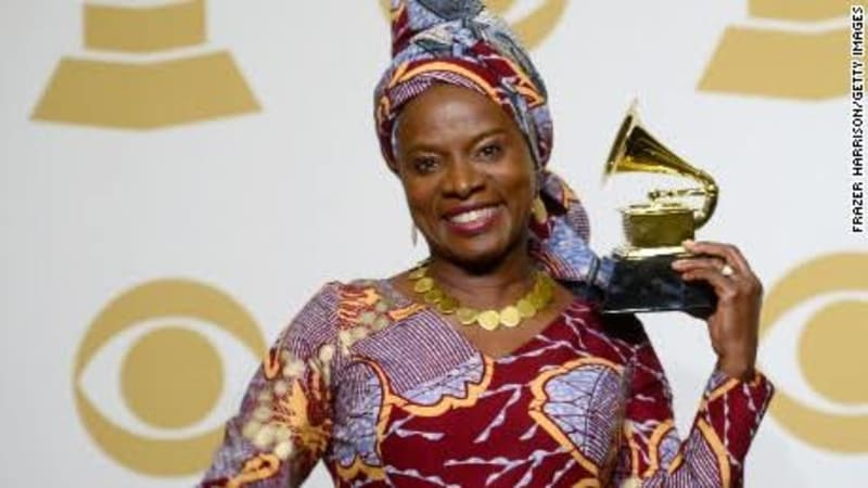 Grammy Awards: Burna Boy Loses To Angelique Kidjo
