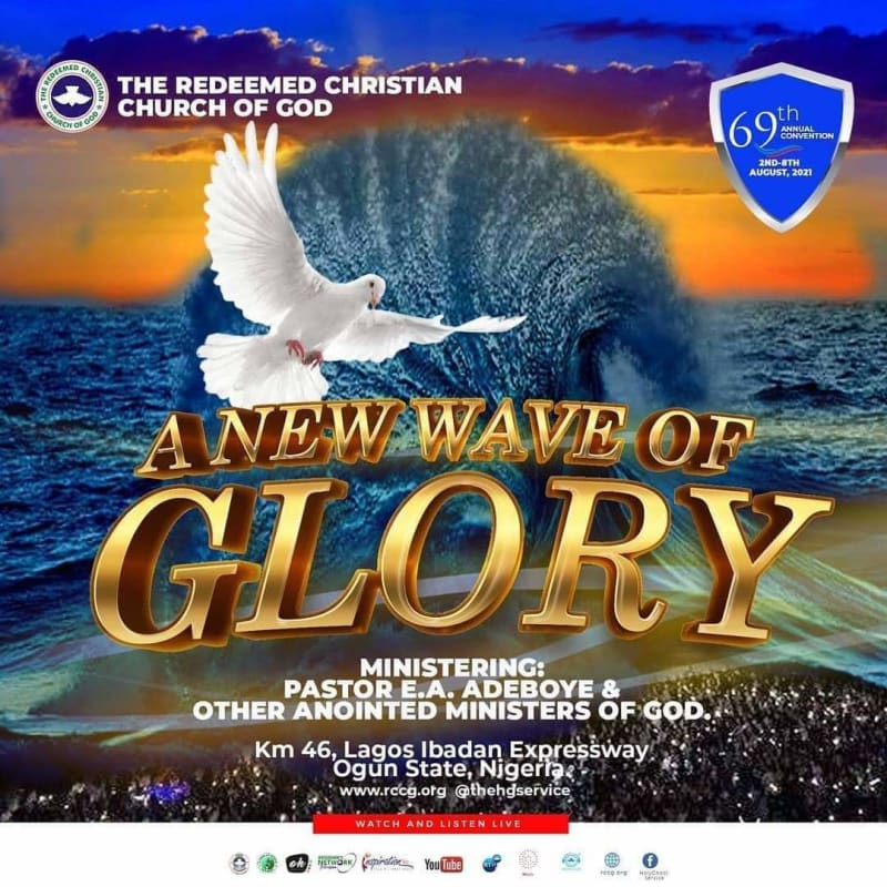 RCCG's 69th Annual Convention 2nd - 8th August 2021