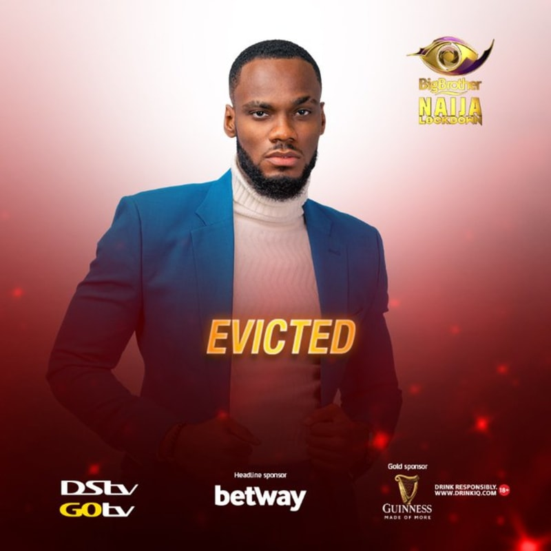 BBNaija: Prince Evicted From The Big Brother House