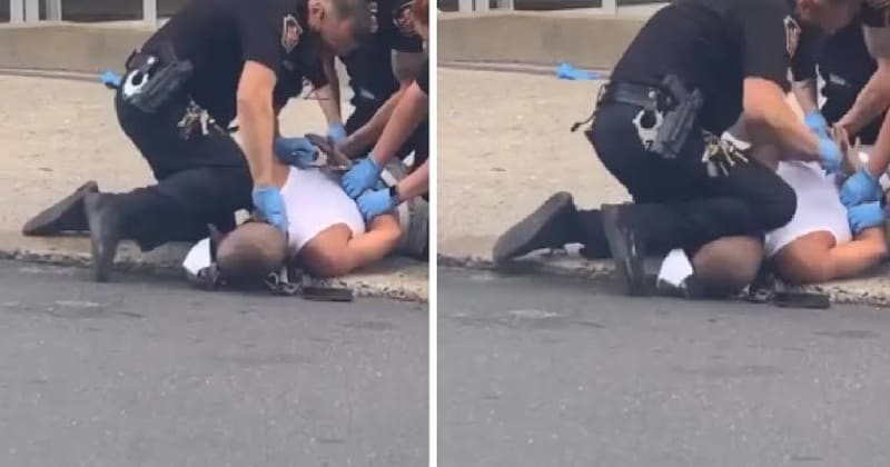 Pennsylvania Cop Seen With Knee On Black Man's Neck During Arrest