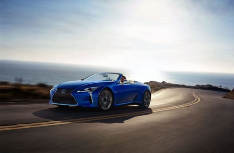 one of a kind 2021 lexus lc 500 convertible to be auctioned for charity