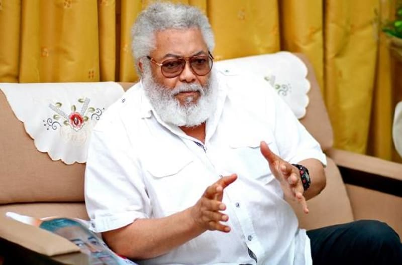Video Of Jerry Rawlings On Hospital Bed Before His Death