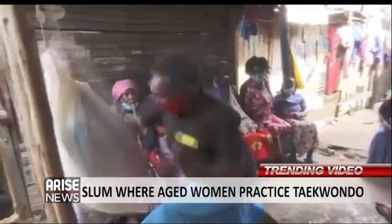 Kenyan Slum Where Women Practice Taekwondo For Self Defense (Video)