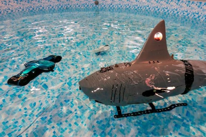 Chinese Military Shows Off It's Deadly, Robot Attack-And-Destroy Sharks