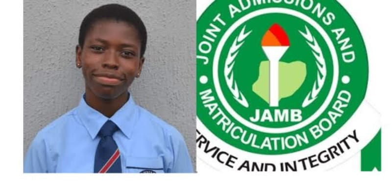See The Girl With The Highest 2020 JAMB Score