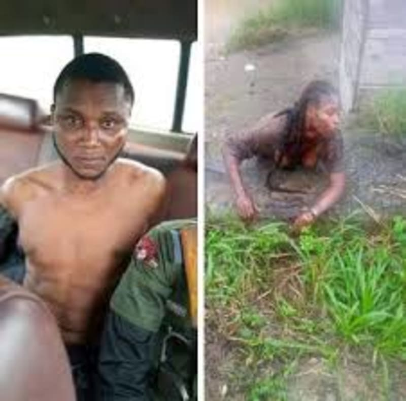 Suspected Yahoo Plus Boy Caught Cutting A Niger Delta University Student's Neck