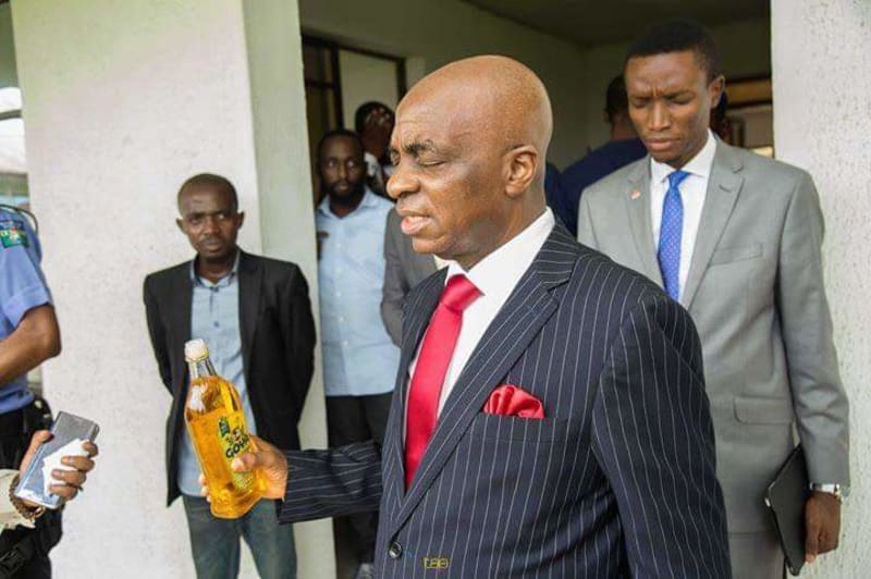 Bishop Oyedepo Anoints Premises Of Dominion University Ibadan