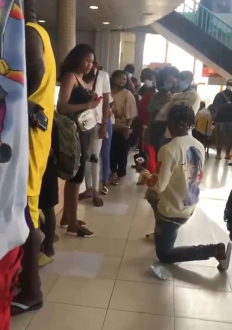 Lady Rejects Her Boyfriend's Proposal After He Sold His Manhood For Riches