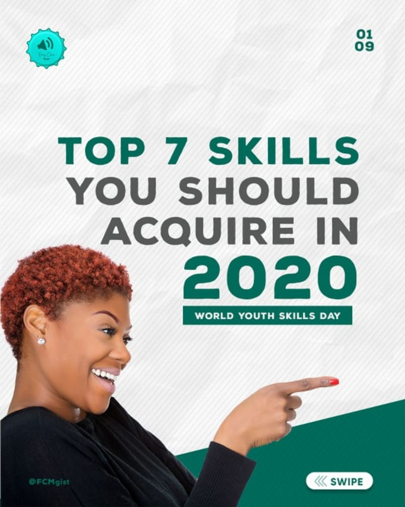 Top 7 Skills You Should Acquire In 2020