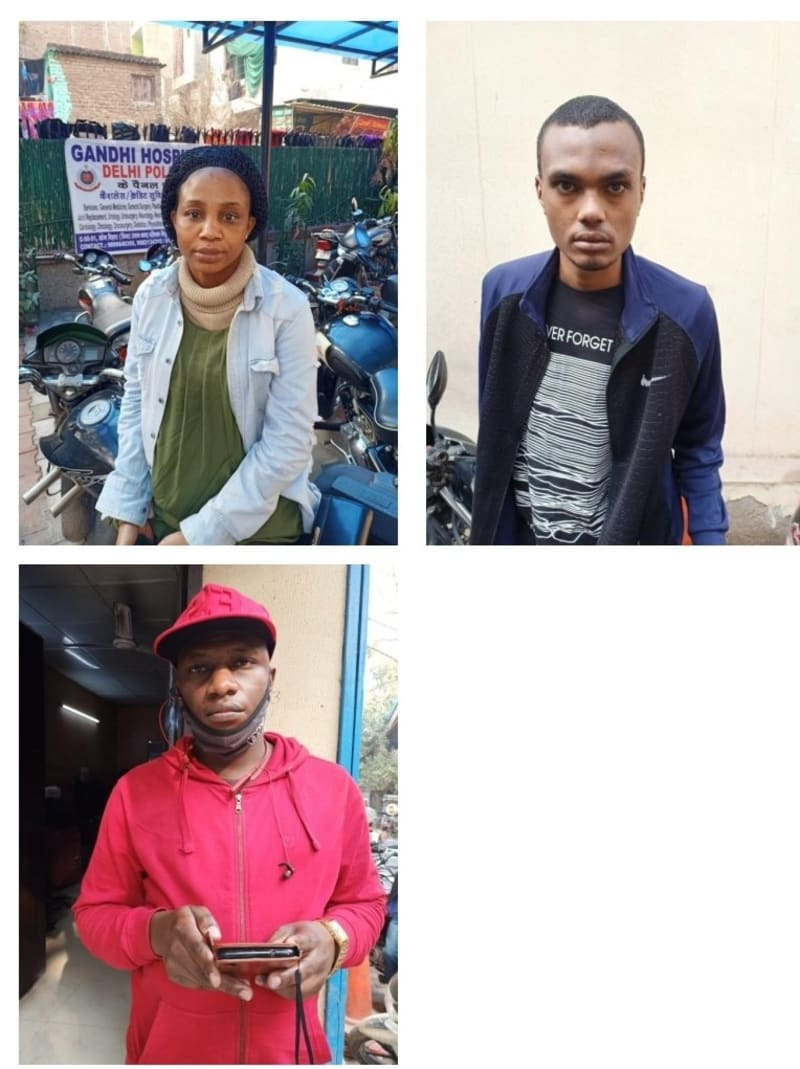 Two Nigerians & One Sudanese Deported For Illegal Stay In India