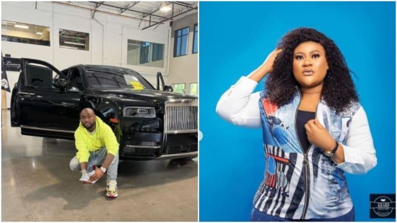 Davido: Nkechi Blessing Shades Those Who Buy Upgraded Cars With 'Bread Nylon'