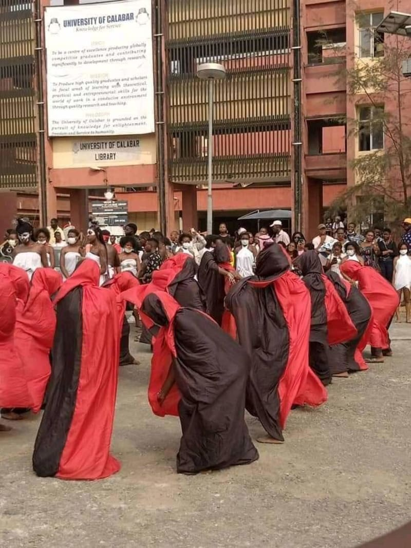 How New Theatre Arts Students Of University Of Calabar Had Their Induction