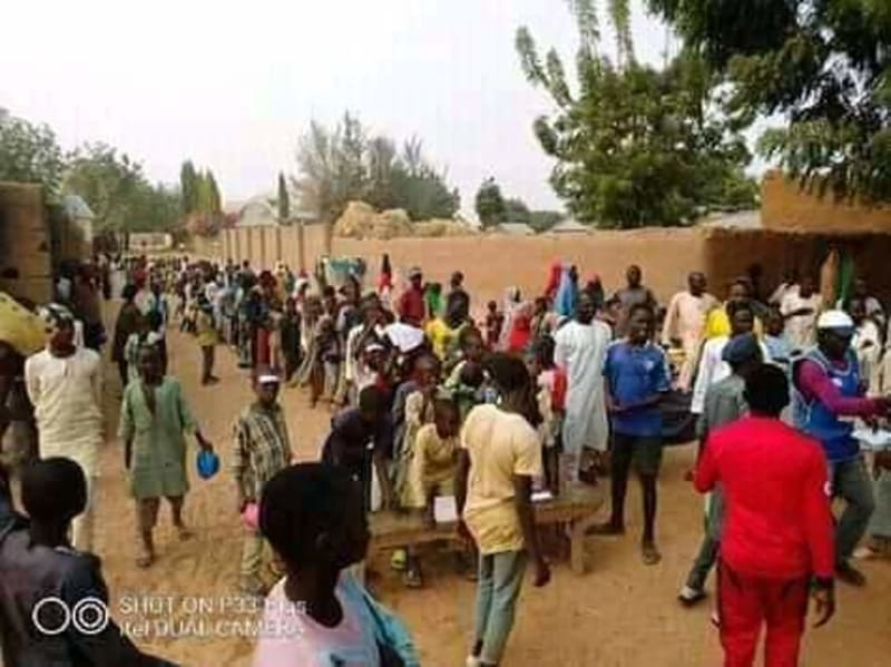 Election Held In Bauchi To Decide Who Gets To Marry A Young Lady (Photos)