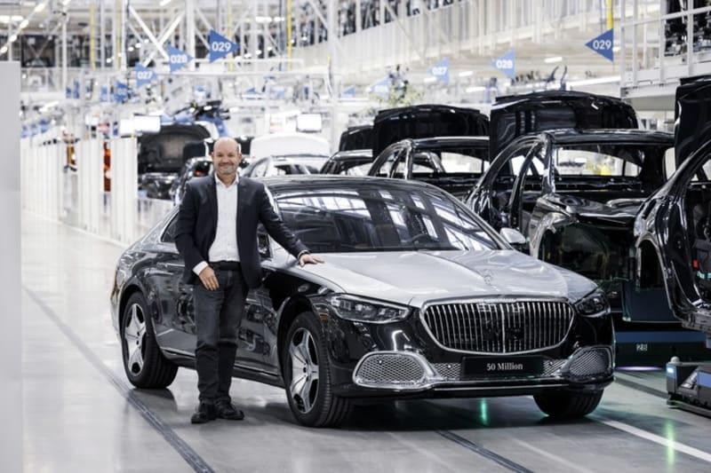 Mercedes Benz Crosses 50 Million Vehicle Production Landmark